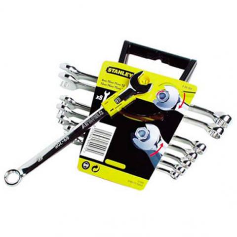Купить инструмент Stanley Набор ключей комбинированных STANLEY 4-89-997 фирменный магазин Украина. Официальный сайт по продаже инструмента Stanley