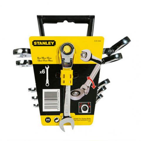 Купить инструмент Stanley Набор ключей комбинированных STANLEY 4-91-444 фирменный магазин Украина. Официальный сайт по продаже инструмента Stanley