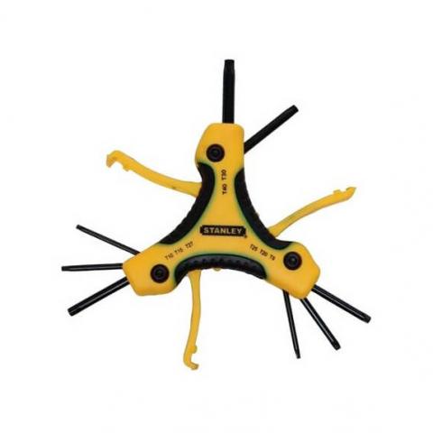Купить инструмент Stanley Набор ключей торкс STANLEY 0-95-961 фирменный магазин Украина. Официальный сайт по продаже инструмента Stanley