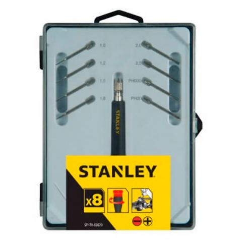 Купить инструмент Stanley Набор отверток прецизионных STANLEY STHT0-62629 фирменный магазин Украина. Официальный сайт по продаже инструмента Stanley