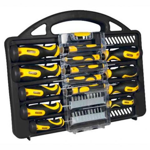 Купить инструмент Stanley Набор отверток STANLEY STHT0-62141 фирменный магазин Украина. Официальный сайт по продаже инструмента Stanley