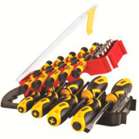 Купить инструмент Stanley Набор отверток STANLEY STHT0-70886 фирменный магазин Украина. Официальный сайт по продаже инструмента Stanley