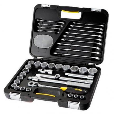 Купить инструмент Stanley Набор торцевых головок STANLEY 1-99-056 фирменный магазин Украина. Официальный сайт по продаже инструмента Stanley