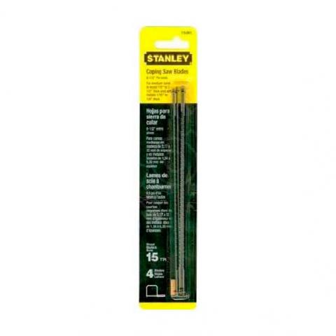 Купить инструмент Stanley Пилки запасные для лобзика STANLEY 0-15-061 фирменный магазин Украина. Официальный сайт по продаже инструмента Stanley