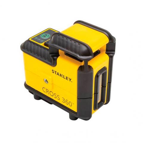 Купить Построитель плоскостей лазерный Cross360 зеленый луч STANLEY STHT77594-1. Инструмент DeWALT Украина, официальный фирменный магазин