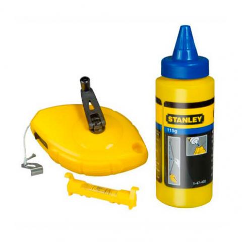 Купить инструмент Stanley Шнур разметочный STANLEY 0-47-443 фирменный магазин Украина. Официальный сайт по продаже инструмента Stanley