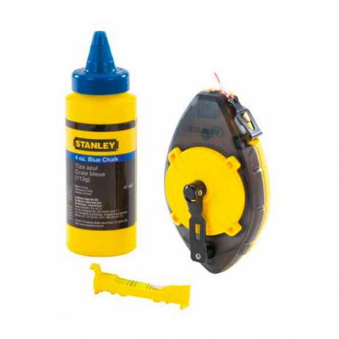 Купить инструмент Stanley Шнур разметочный STANLEY 0-47-465 фирменный магазин Украина. Официальный сайт по продаже инструмента Stanley