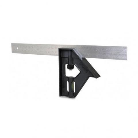 Купить инструмент Stanley Угольник комбинированный STANLEY 2-46-017 фирменный магазин Украина. Официальный сайт по продаже инструмента Stanley