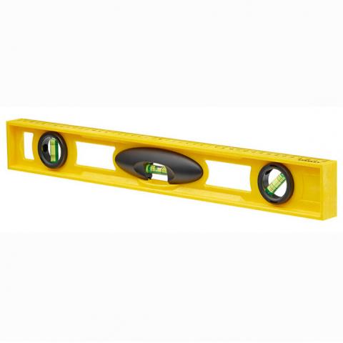 Купить инструмент Stanley Уровень Foamcast из пластика длиной 600 мм с тремя капсулами STANLEY 1-42-476 фирменный магазин Украина. Официальный сайт по продаже инструмента Stanley