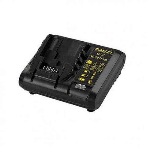 Купить инструмент Stanley Зарядное устройство для 10,8 В аккумуляторов STANLEY SC121 фирменный магазин Украина. Официальный сайт по продаже инструмента Stanley