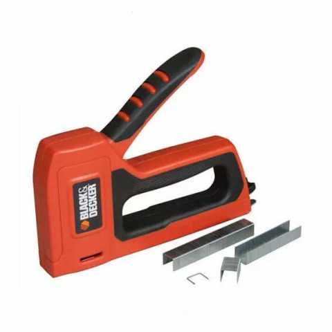 Купить Степлер для скобы типа A BLACK+DECKER BDHT0-71031. Инструмент Black Deker Украина, официальный фирменный магазин