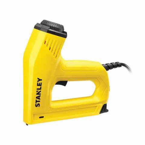 Купить Степлер электрический под скобы типа G 6, 8, 10,12,14 мм и шпильки типа J 12-15 мм STANLEY 6-TRE550. Инструмент DeWALT Украина, официальный фирменный магазин
