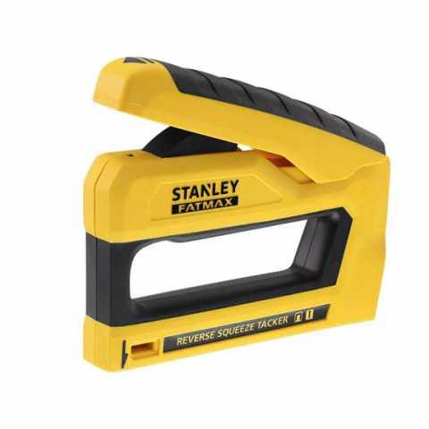 Купить Степлер FatMax® под скобы типа G длиной 6-14 мм и гвозди типа J длиной 12; 15 мм STANLEY FMHT0-80551. Инструмент DeWALT Украина, официальный фирменный магазин