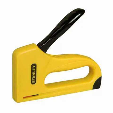 Купить Степлер Light Duty для скоб типа A высотой: 6, 8, 10 мм STANLEY 6-TR35. Инструмент DeWALT Украина, официальный фирменный магазин