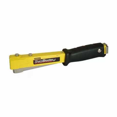 Купить Степлер ударный Hammer Tacker для скоб типа G высотой: 6, 8, 10 мм STANLEY 6-PHT150. Инструмент DeWALT Украина, официальный фирменный магазин