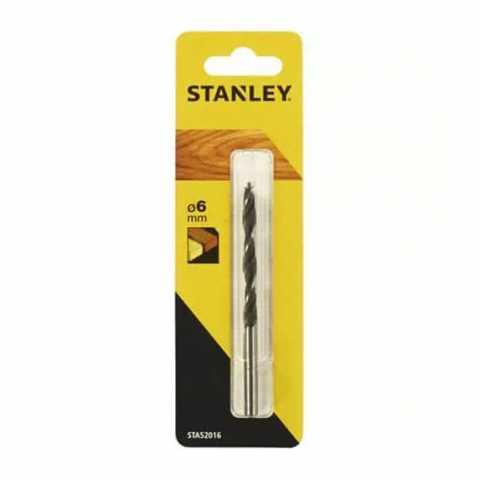 Купить Сверло по дереву 6мм STANLEY STA52016. DeWALT Украина, официальный фирменный магазин