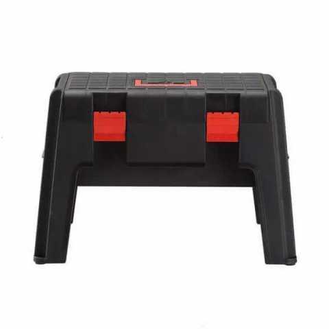 Купить Универсальный ящик инструментальный - стул (верстак) BLACK+DECKER BDST1-70587. Инструмент Black Deker Украина, официальный фирменный магазин