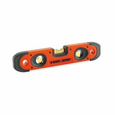 Купить Уровень малый типа TORPEDO 250 мм BLACK+DECKER BDHT0-42174. Инструмент Black Deker Украина, официальный фирменный магазин