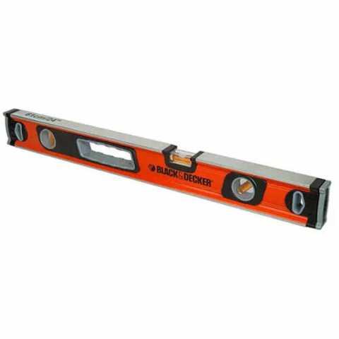 Купить Уровень типа CLASSIC 600 мм BLACK+DECKER BDHT0-42175. Инструмент Black Deker Украина, официальный фирменный магазин