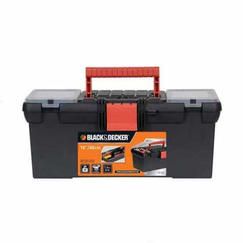 Купить Ящик инструментальный размером 320 мм BLACK+DECKER BDST1-70580. Инструмент Black Deker Украина, официальный фирменный магазин