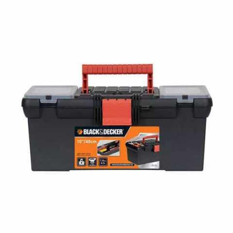 Купить Ящик инструментальный размером 400 мм BLACK+DECKER BDST1-70566. Инструмент Black Deker Украина, официальный фирменный магазин