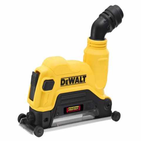 Купить Защитный кожух 125 мм для отвода пыли - бороздодел DeWALT DWE46225. Инструмент DeWALT Украина, официальный фирменный магазин