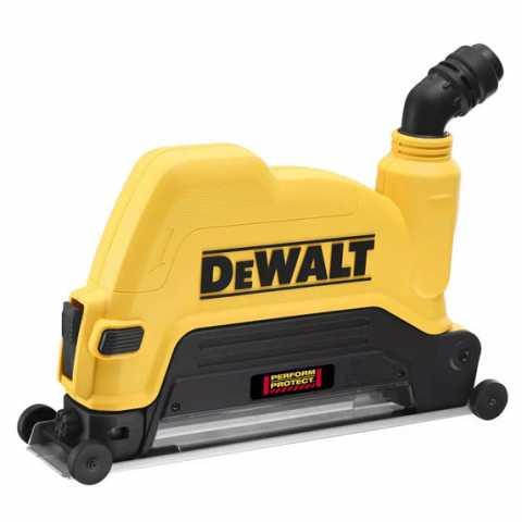 Купить Защитный кожух 230 мм для отвода пыли - бороздодел DeWALT DWE46229. Инструмент DeWALT Украина, официальный фирменный магазин