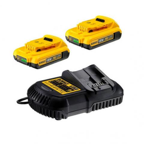 Купить инструмент DeWALT Зарядное устройство и 2 аккумулятора DCB183 2Ач DeWALT DCB115D2 фирменный магазин Украина. Официальный сайт по продаже инструмента DeWALT