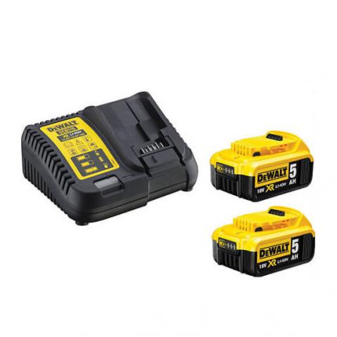Купить инструмент DeWALT Устройство зарядное с двумя аккумуляторами DeWALT DCB115P2 фирменный магазин Украина. Официальный сайт по продаже инструмента DeWALT