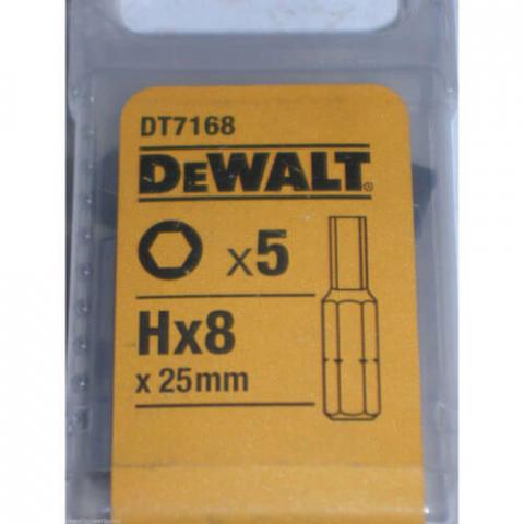 Купить аксессуары Биты TORSION DeWALT DT7168 фирменный магазин Украина. Официальный сайт по продаже инструмента DeWALT