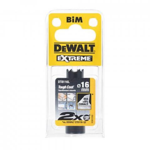 Купить аксессуары Цифенбор биметаллический диаметр 16 мм DeWALT DT8116L фирменный магазин Украина. Официальный сайт по продаже инструмента DeWALT