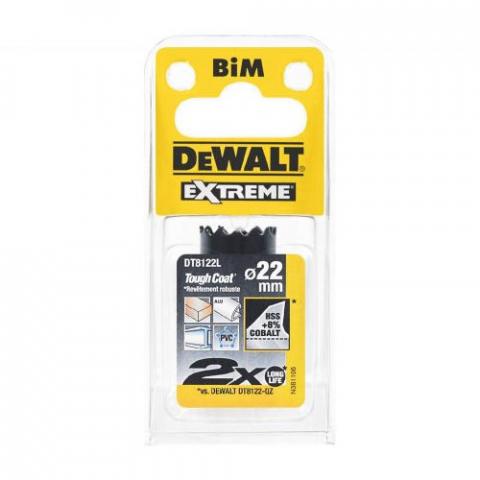 Купить аксессуары Цифенбор биметаллический диаметр 22 мм DeWALT DT8122L фирменный магазин Украина. Официальный сайт по продаже инструмента DeWALT