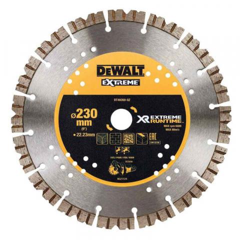 Купить аксессуары Диск алмазный EXTREME для мокрого и сухого использования для УШМ и DCS690 DeWALT DT40260 фирменный магазин Украина. Официальный сайт по продаже инструмента DeWALT