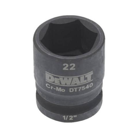 Купить аксессуары DeWALT Головка торцевая ударная IMPACT 22 мм DeWALT DT7540 фирменный магазин Украина. Официальный сайт по продаже инструмента DeWALT