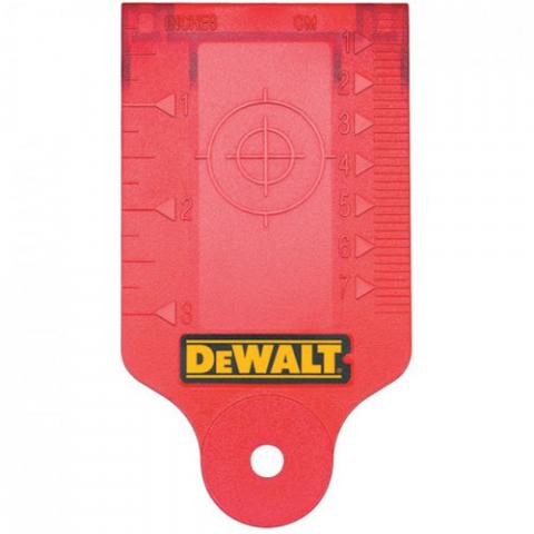 Купить аксессуары DeWALT Мишень-лучеуловитель для ротационных лазеров DeWALT DE0730 фирменный магазин Украина. Официальный сайт по продаже инструмента DeWALT