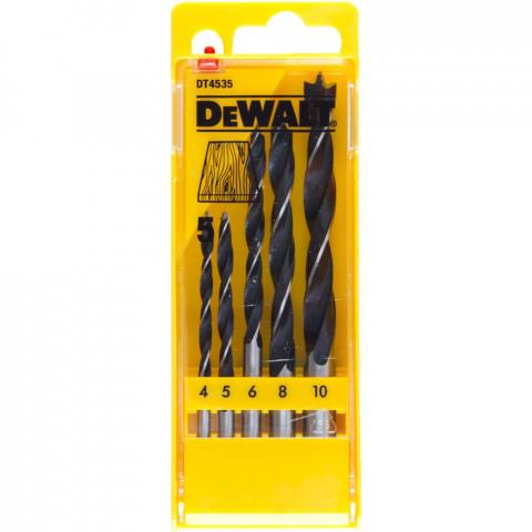 Купить аксессуары Набор сверл по дереву DeWALT DT4535 фирменный магазин Украина. Официальный сайт по продаже инструмента DeWALT
