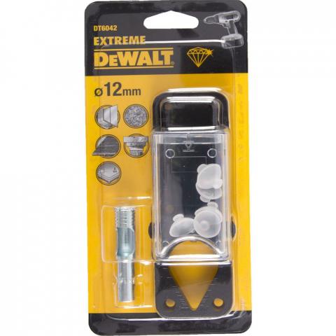 Купить аксессуары Сверло алмазное по керамической плитке диаметр 12 мм DeWALT DT6042 фирменный магазин Украина. Официальный сайт по продаже инструмента DeWALT