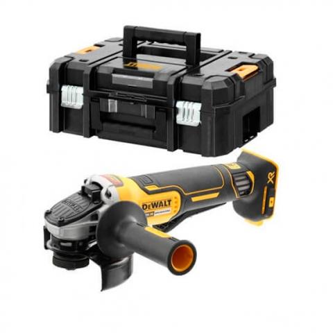 Купить Шлифмашина угловая - болгарка аккумуляторная бесщёточная DeWALT DCG406NT. Инструмент DeWALT Украина, официальный фирменный магазин