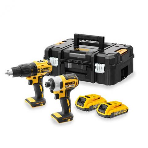 Купить Набор из двух инструментов бесщеточных DeWALT DCK2060D2T. Инструмент DeWALT Украина, официальный фирменный магазин