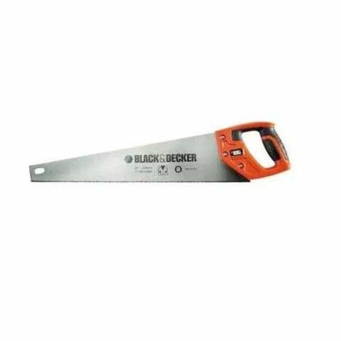 Купить Ножовка по дереву длиной 500 мм BLACK+DECKER BDHT0-20169. Инструмент Black Deker Украина, официальный фирменный магазин