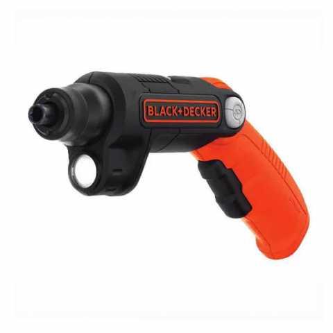 Купить Отвертка аккумуляторная BLACK+DECKER BDCSFL20C. Инструмент Black Deker Украина, официальный фирменный магазин