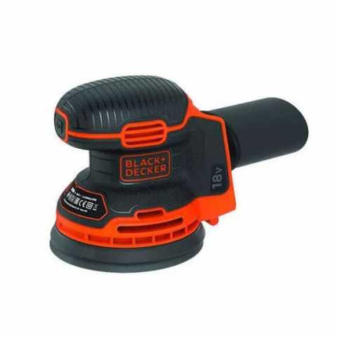 Купить Шлифмашина эксцентриковая аккумуляторная BLACK+DECKER BDCROS18N. Инструмент Black Deker Украина, официальный фирменный магазин