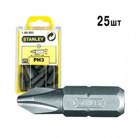 Купить инструмент Stanley Бита STANLEY 1-68-950 фирменный магазин Украина. Официальный сайт по продаже инструмента Stanley