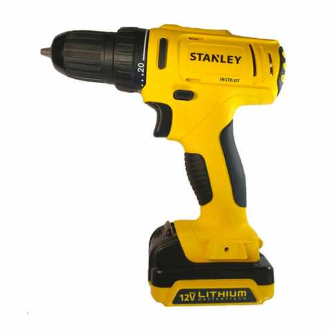 Купить инструмент Stanley Дрель-шуруповёрт аккумуляторная STANLEY SCD121S2K фирменный магазин Украина. Официальный сайт по продаже инструмента Stanley