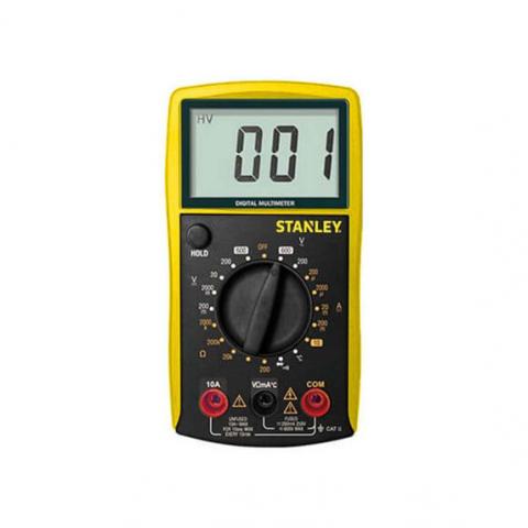 Купить инструмент Stanley Мультиметр цифровой STANLEY STHT0-77364 фирменный магазин Украина. Официальный сайт по продаже инструмента Stanley