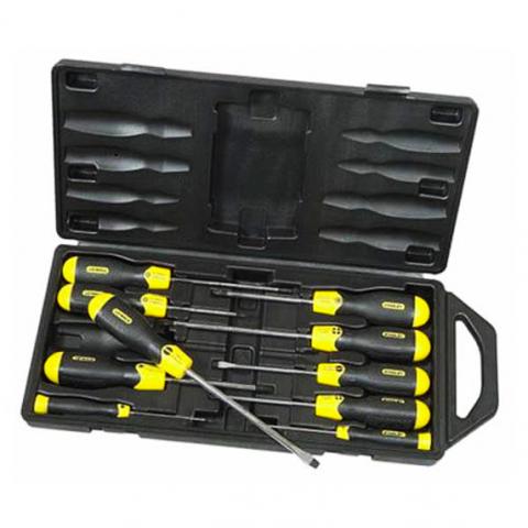 Купить инструмент Stanley Набор отверток STANLEY 2-65-014 фирменный магазин Украина. Официальный сайт по продаже инструмента Stanley