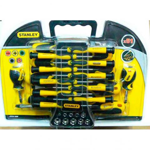 Купить инструмент Stanley Набор отверток STANLEY STHT0-70888 фирменный магазин Украина. Официальный сайт по продаже инструмента Stanley