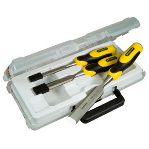 Купить инструмент Stanley Набор стамесок STANLEY 2-16-883 фирменный магазин Украина. Официальный сайт по продаже инструмента Stanley