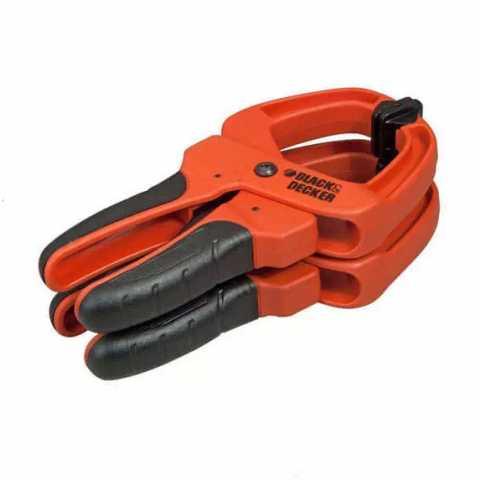 Купить Зажим ручной - струбцина BLACK+DECKER BDHT0-83181. Инструмент Black Deker Украина, официальный фирменный магазин
