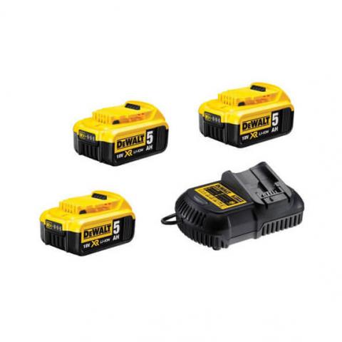 Купить инструмент DeWALT Зарядное устройство и 2 аккумулятора DCB184 5Ач DeWALT DCB105P3 фирменный магазин Украина. Официальный сайт по продаже инструмента DeWALT